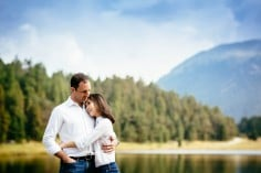 Couple photo shoot with Giana and Gianni in St. Moritz, Switzerland.
