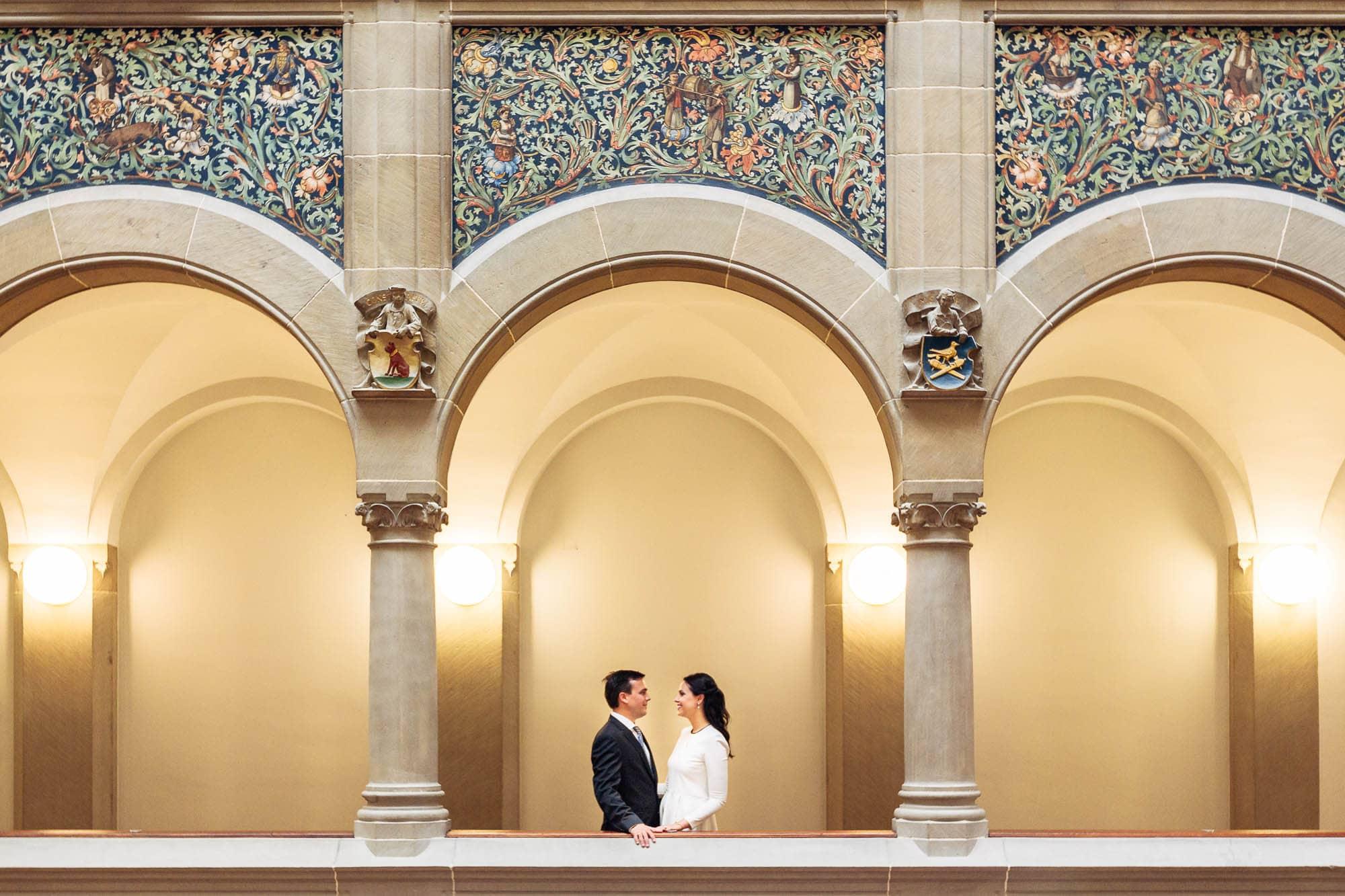 Zivile Hochzeitsfotos in Zürich - Petra & Alexander