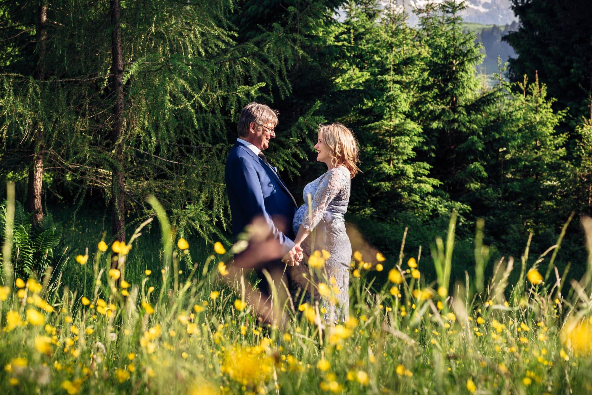 Zivilhochzeit von Bianca und Gualtiero in Appenzell und St. Gallen vom 10. Juni 2016.