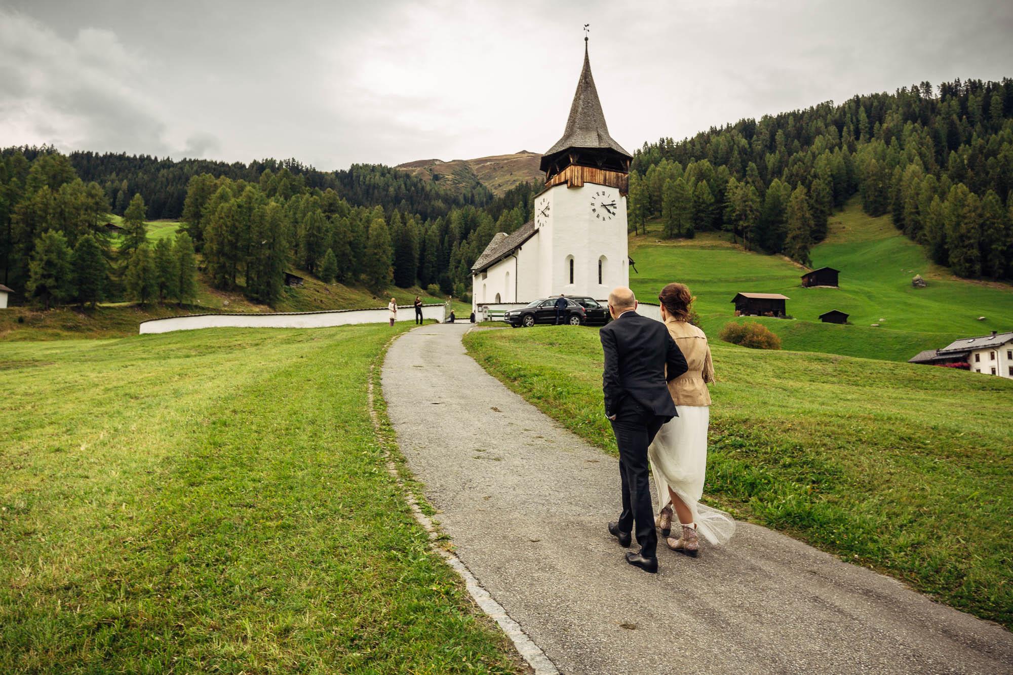 Hochzeit von Sandra & Yves in Klosters vom 01. Oktober 2016.