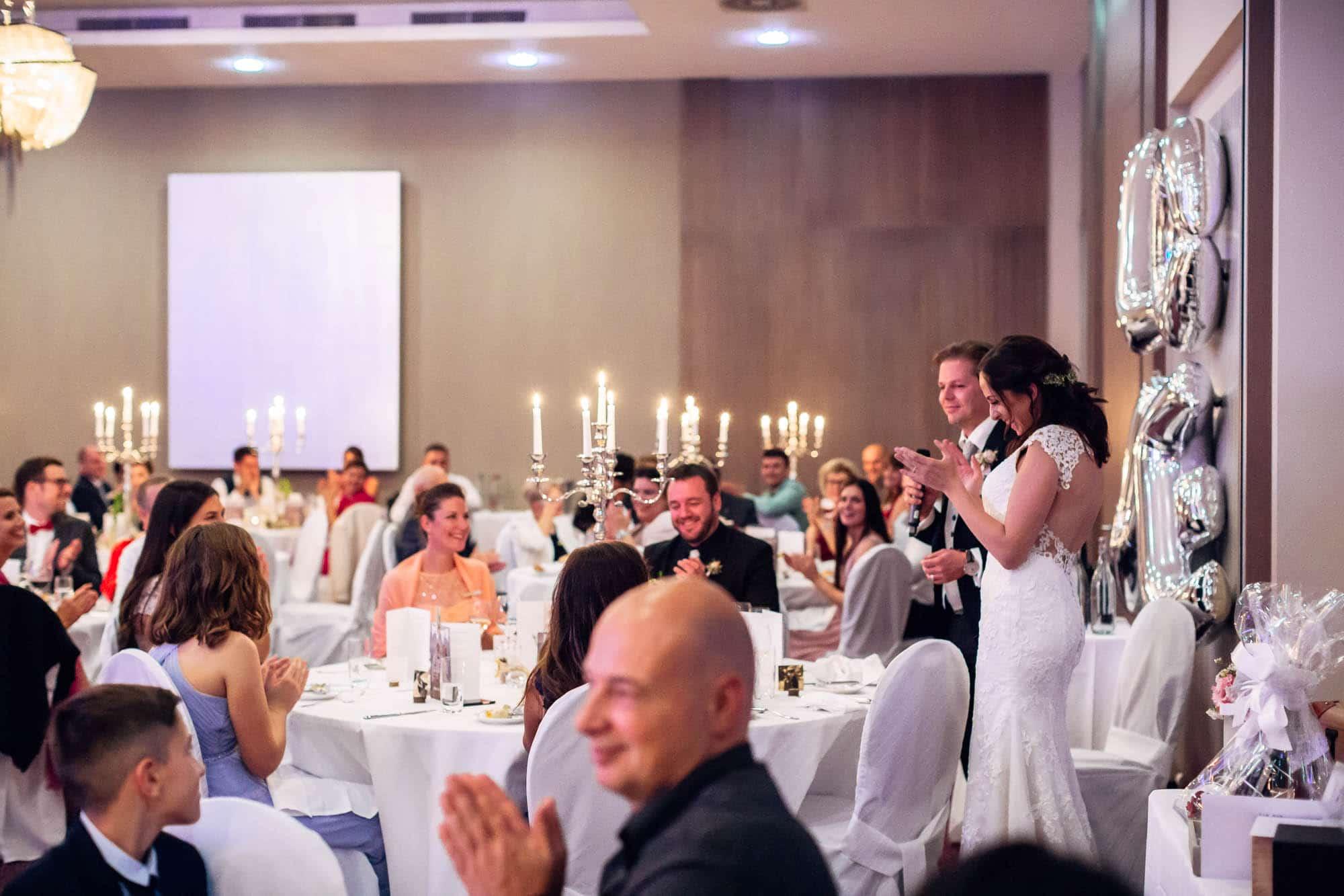 Hochzeitsfest in Davos