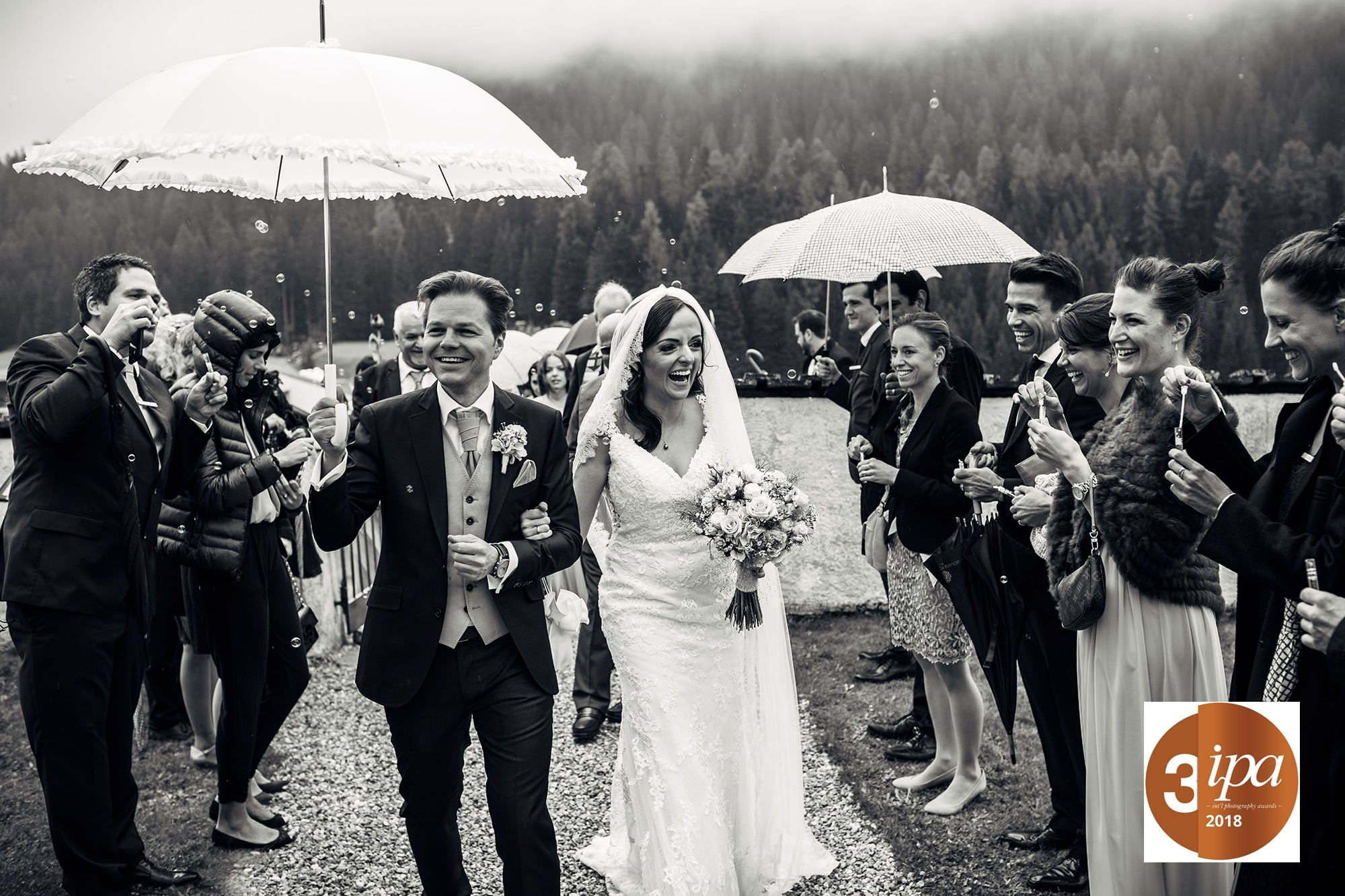 Einzug Kirche Hochzeit Davos