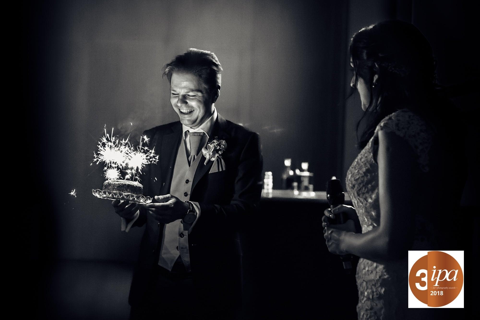 Hochzeitstorte Bräutigam