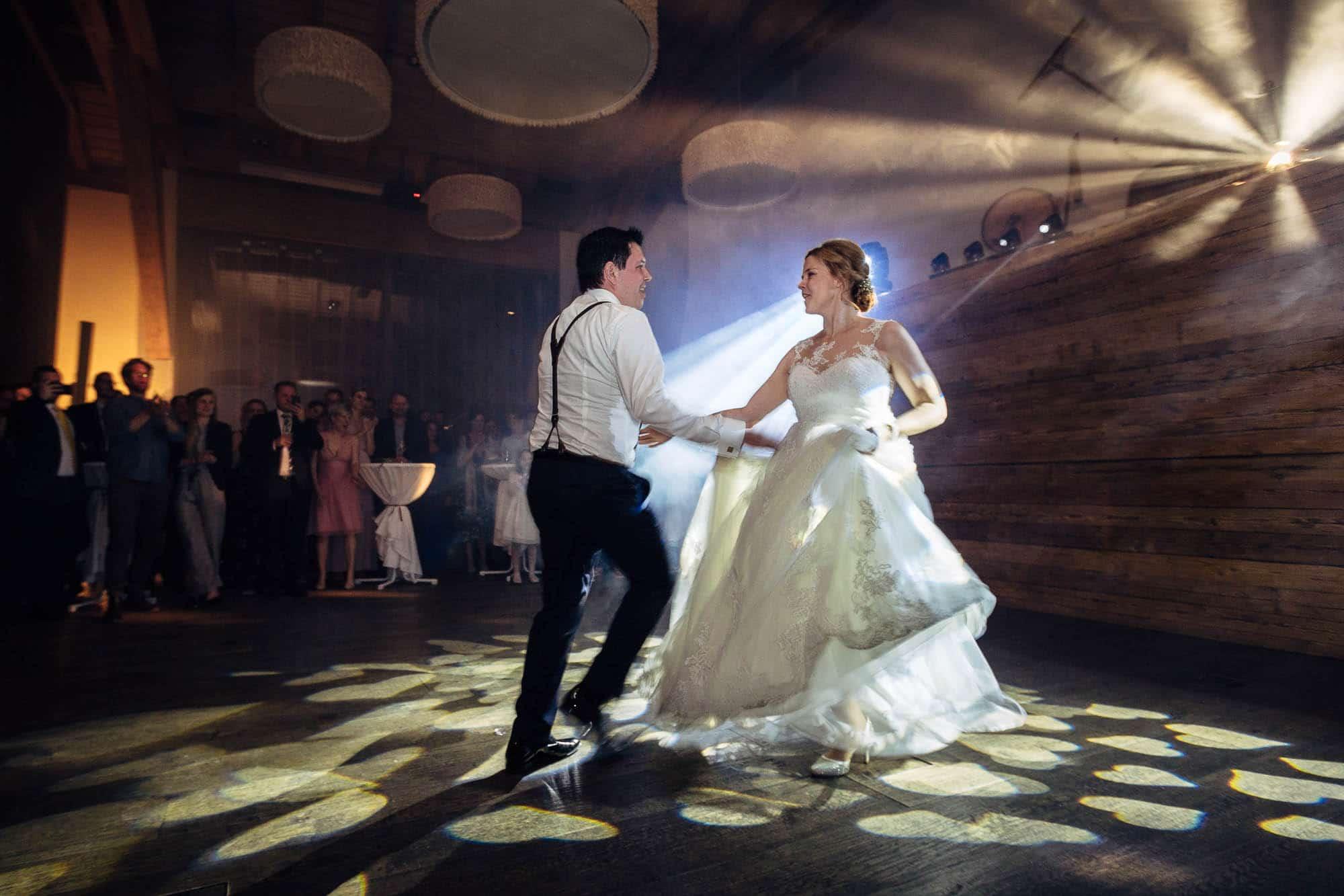 Fetziger Hochzeitstanz