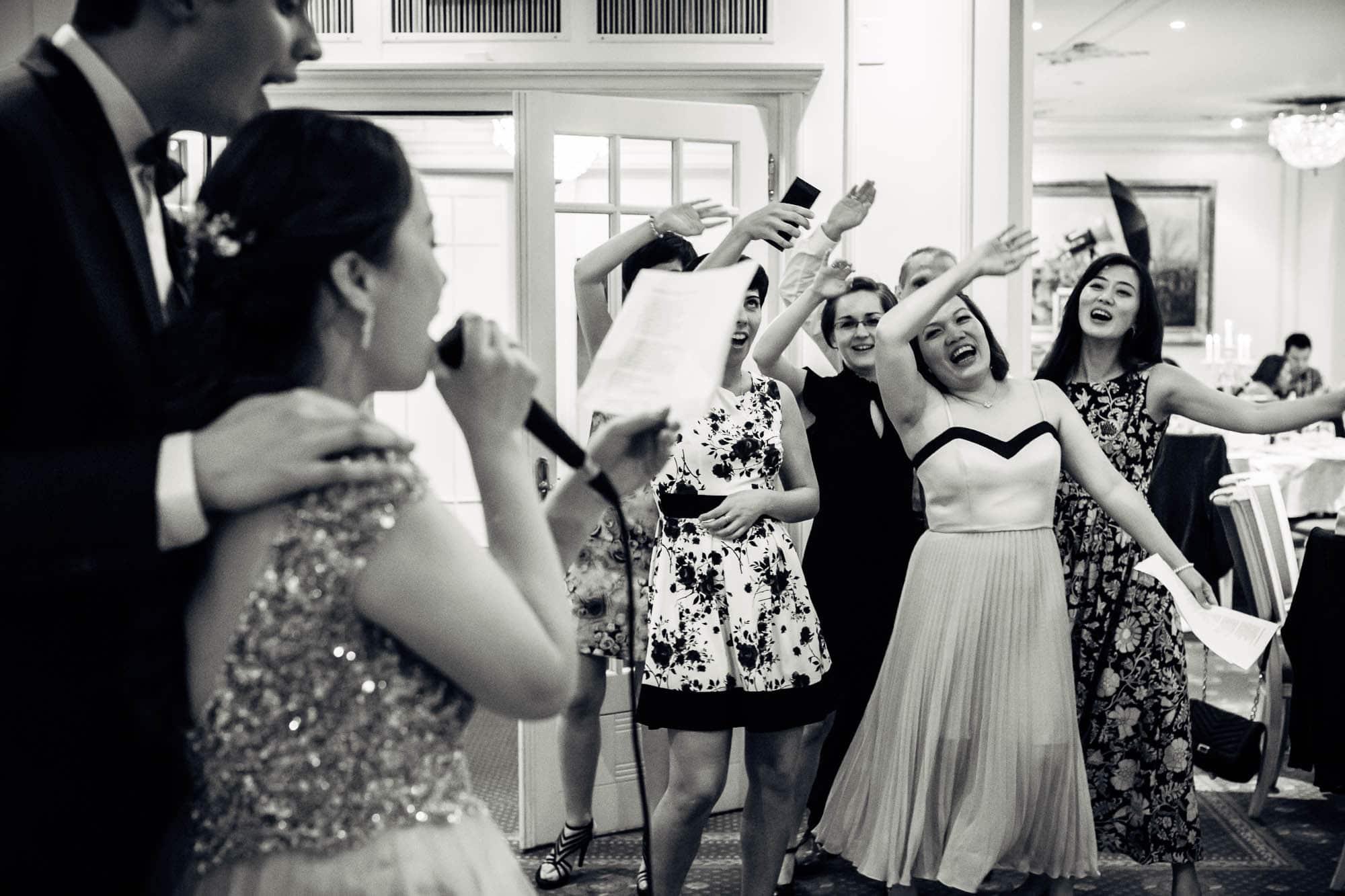 Karaoke an der Hochzeit