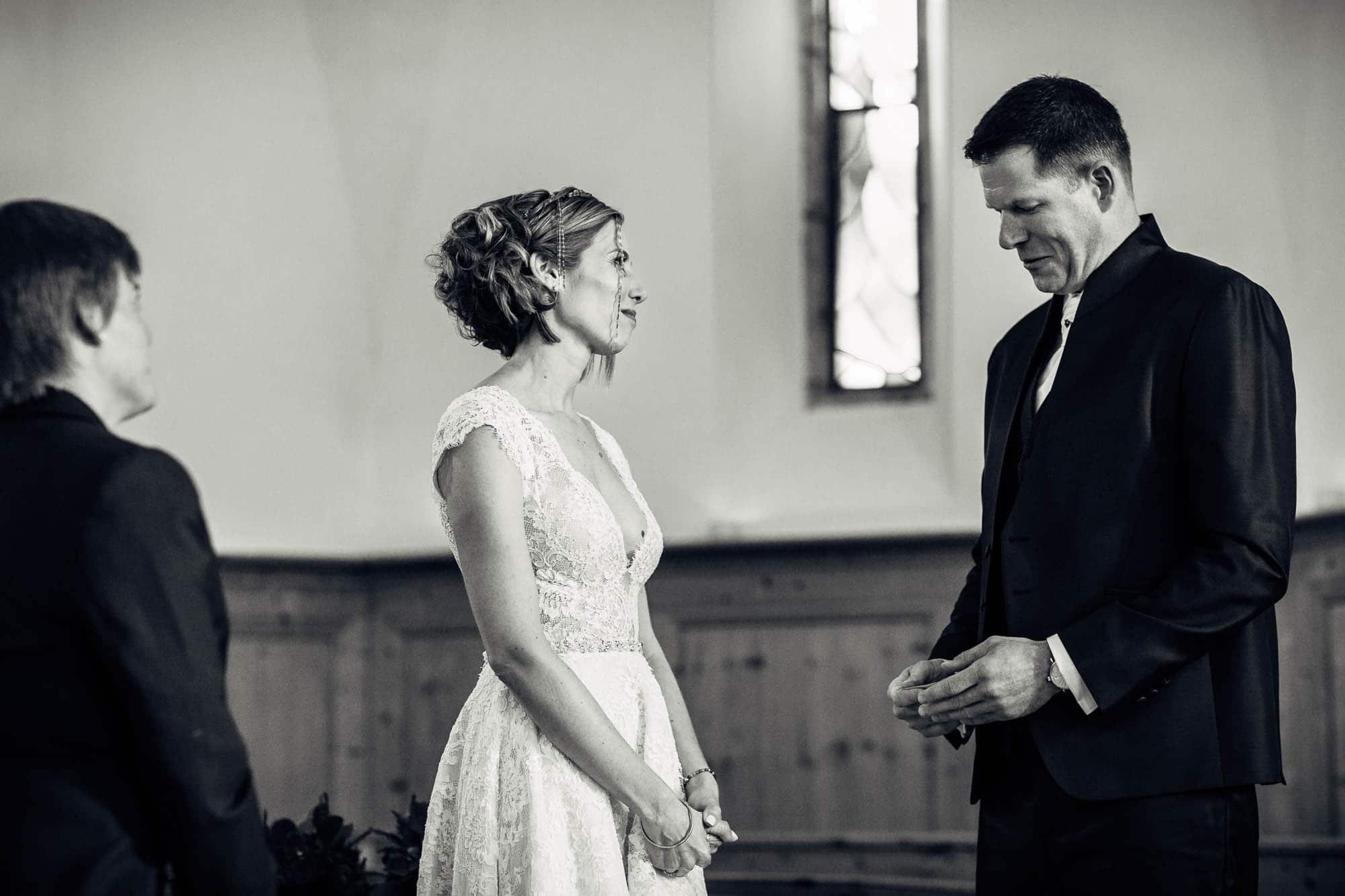 Eheversprechen vom Bräutigam