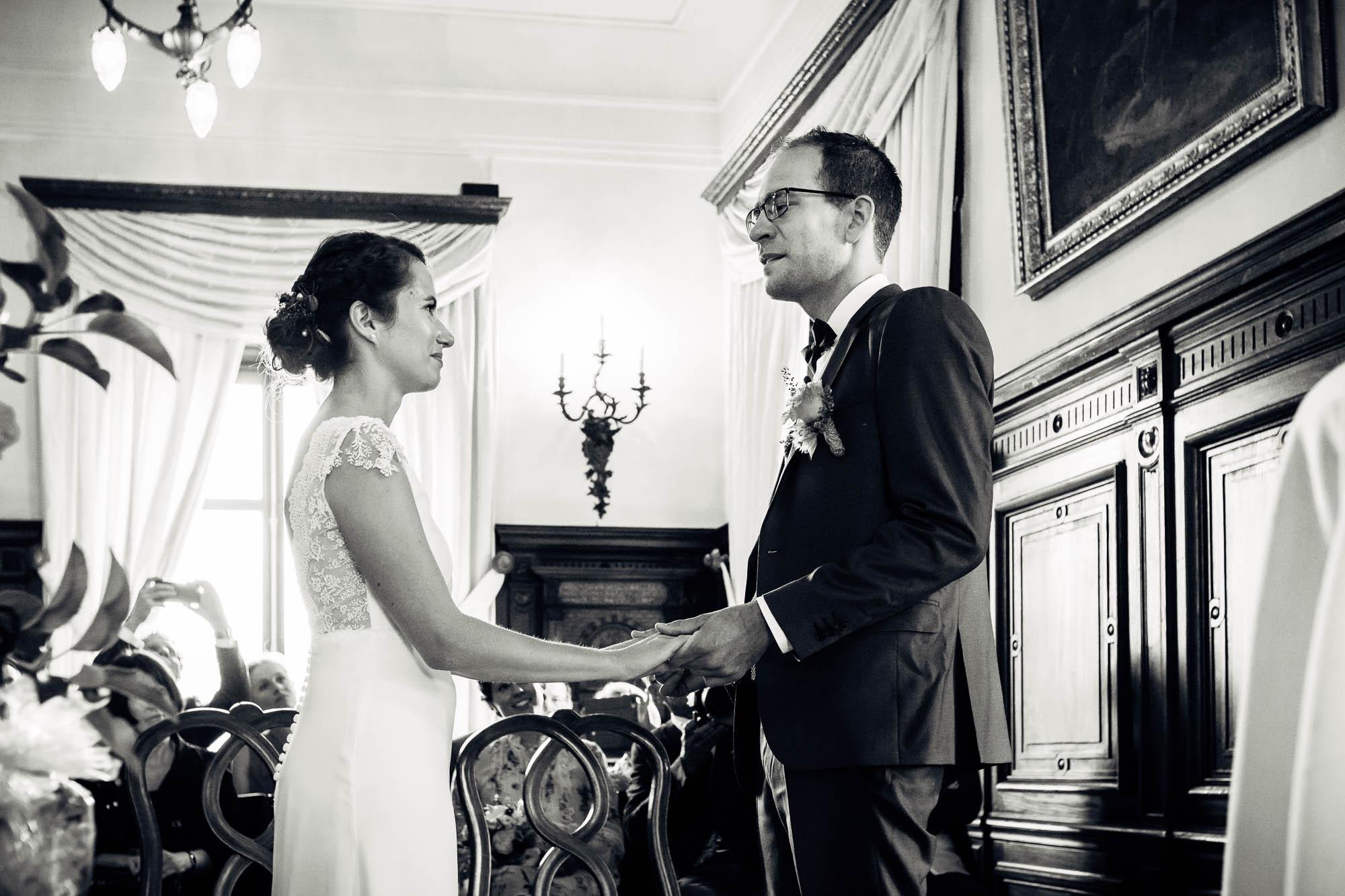 Persönliches Eheversprechen vom Brautpaar