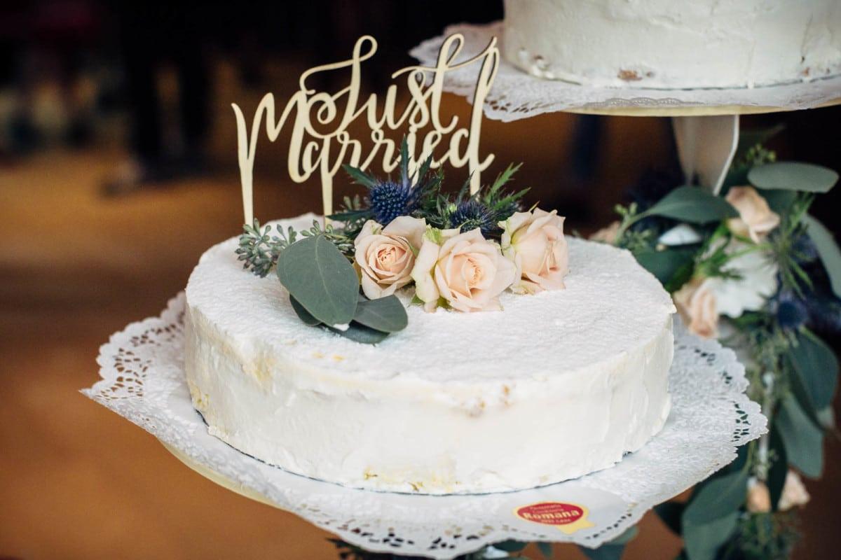 Hochzeitstorte in Laax