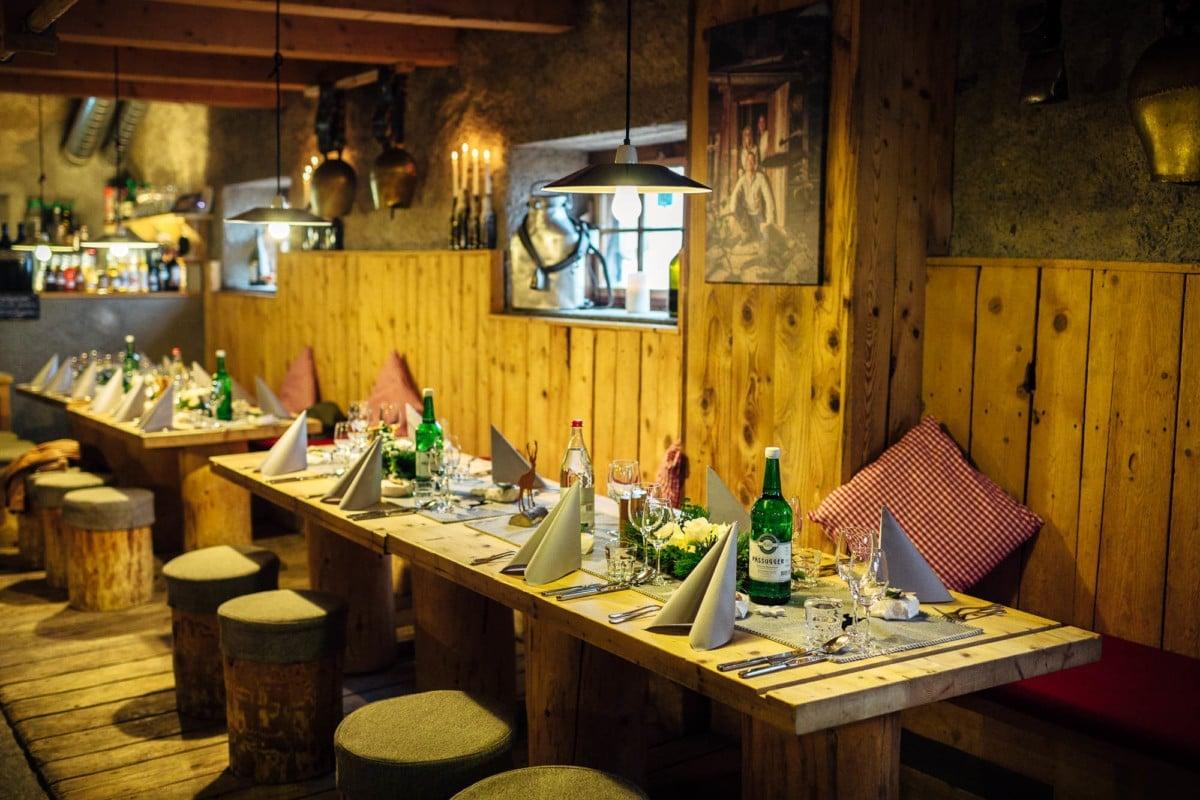 Dekoration Hochzeit Alp Stalla Nagens
