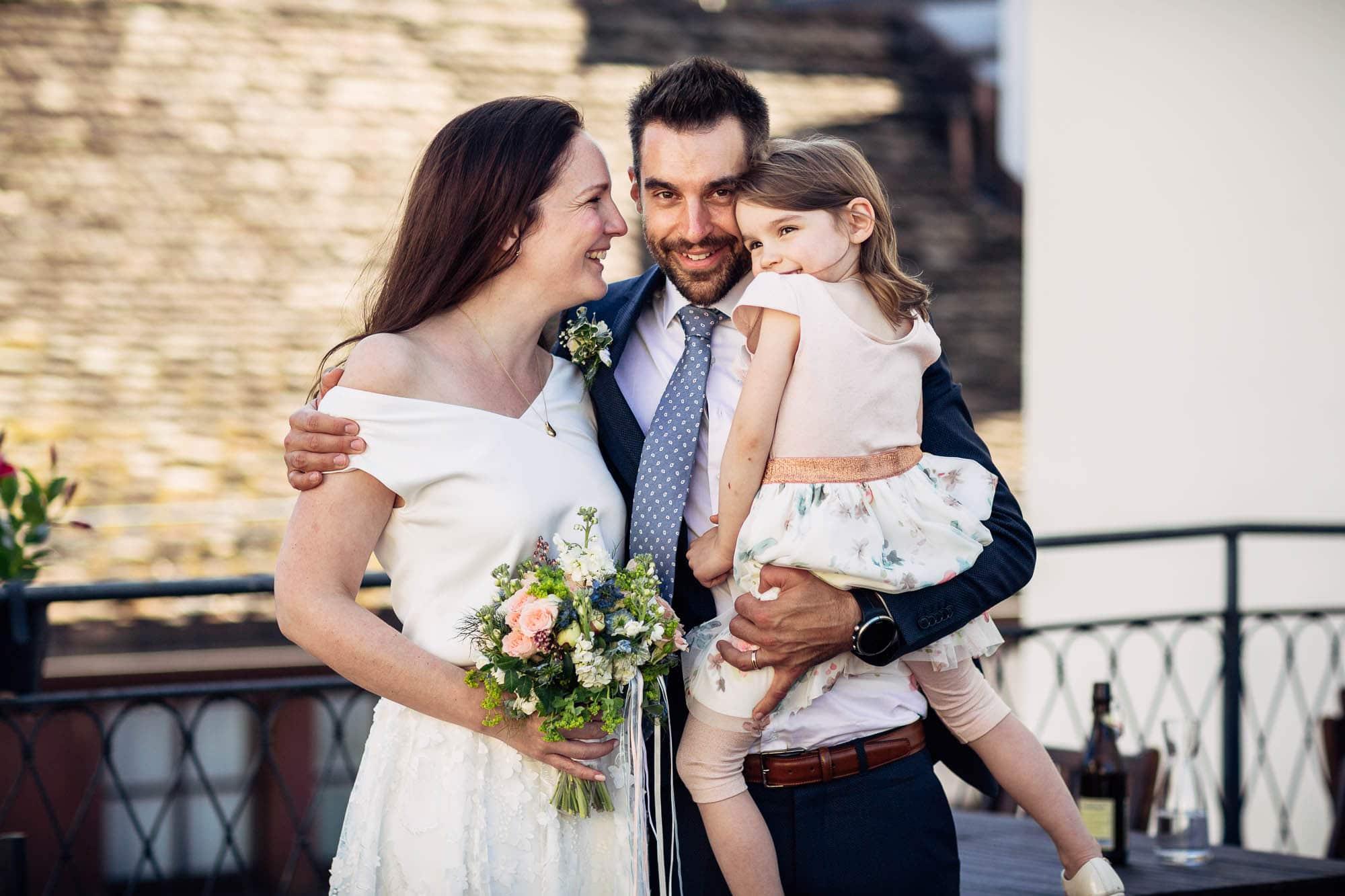 Portrait vom Brautpaar