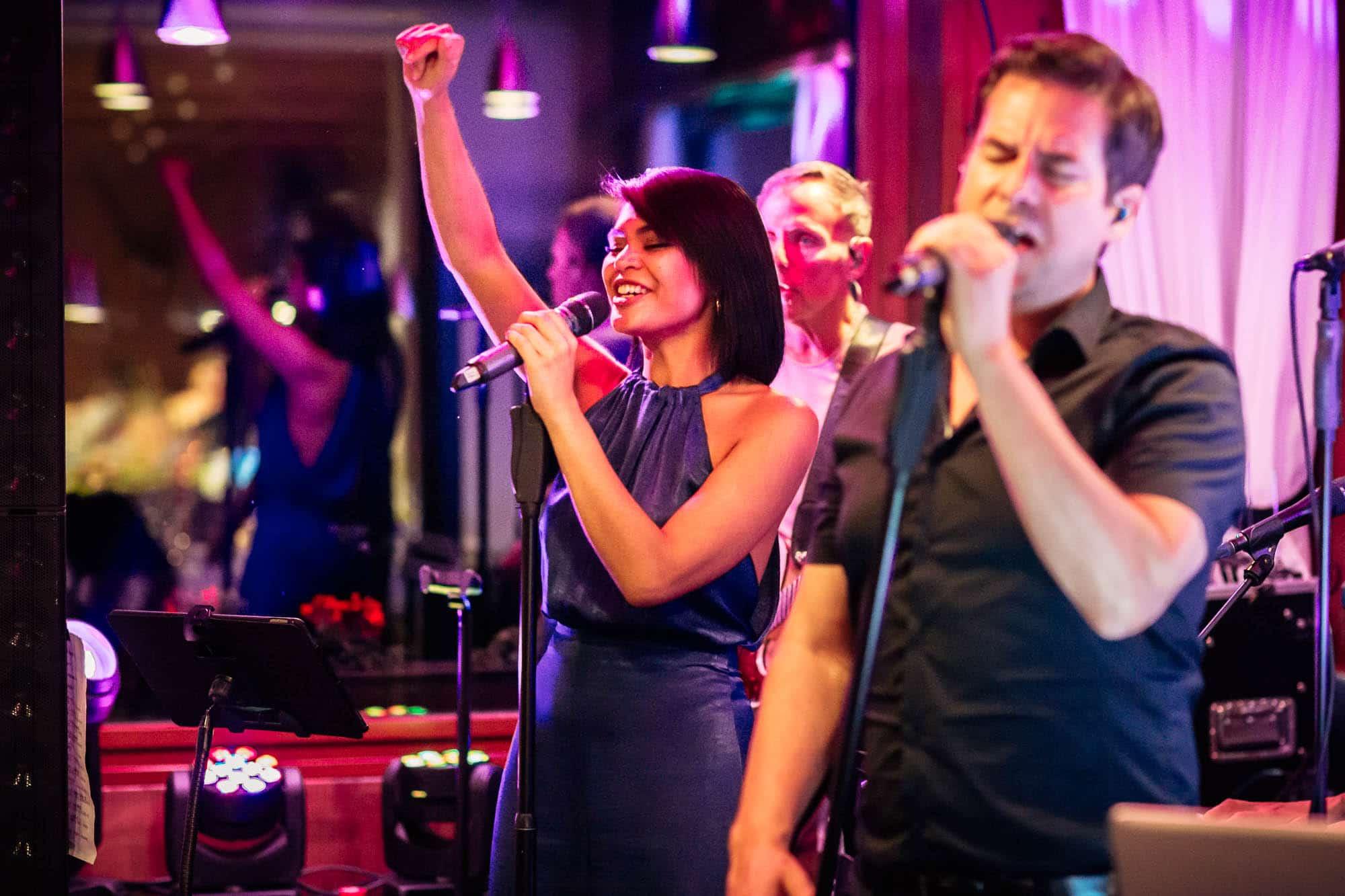 Hochzeitsband Pianobeat sorgt für Stimmung