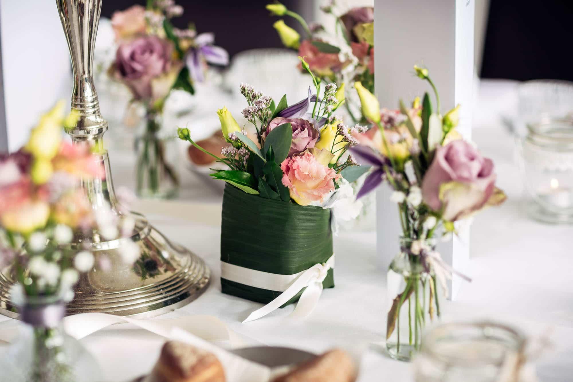Blumendekoration Hochzeit Vitznauerhof