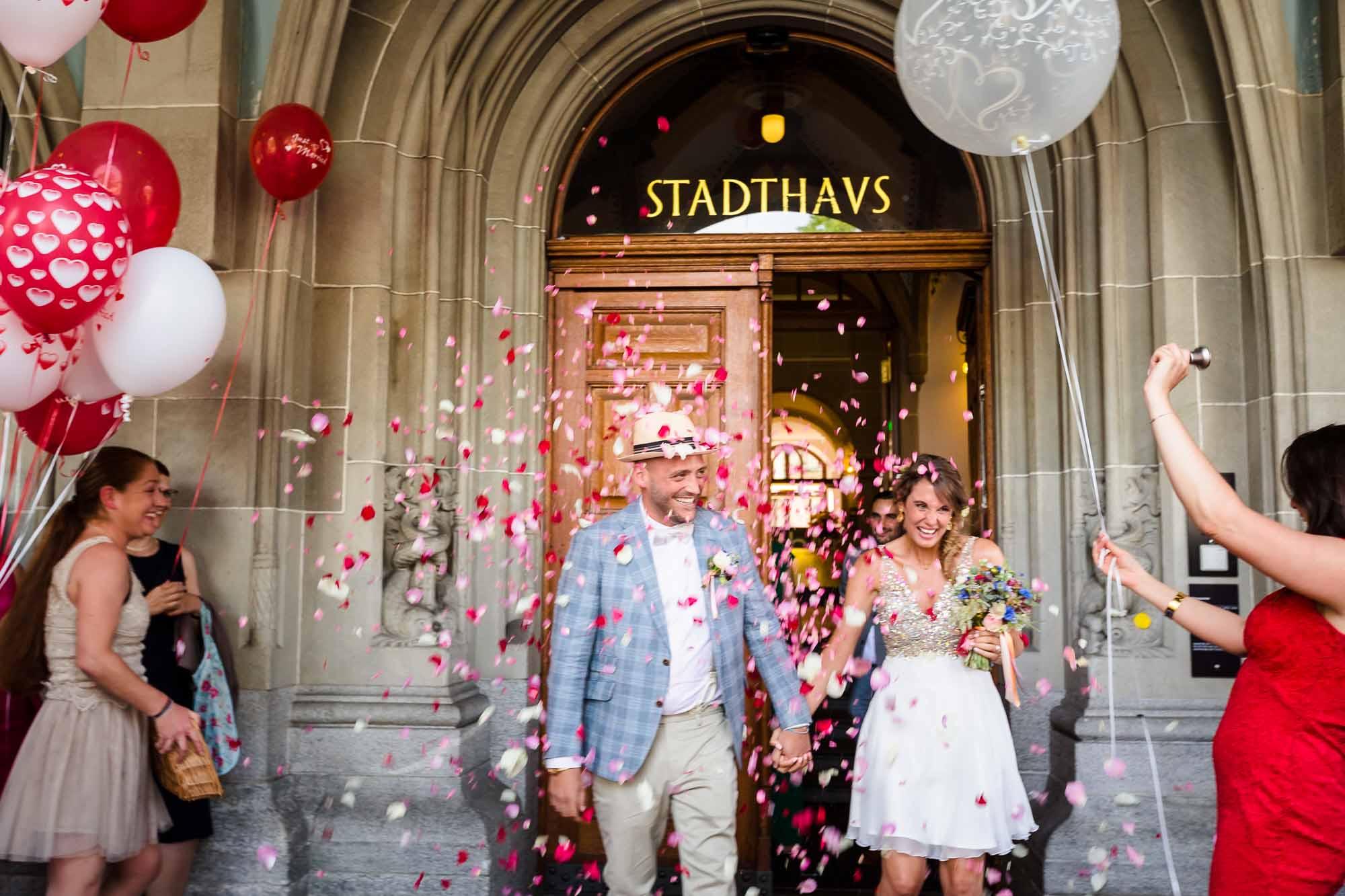 Hochzeitsfotos & Hochzeitsbilder Zürich