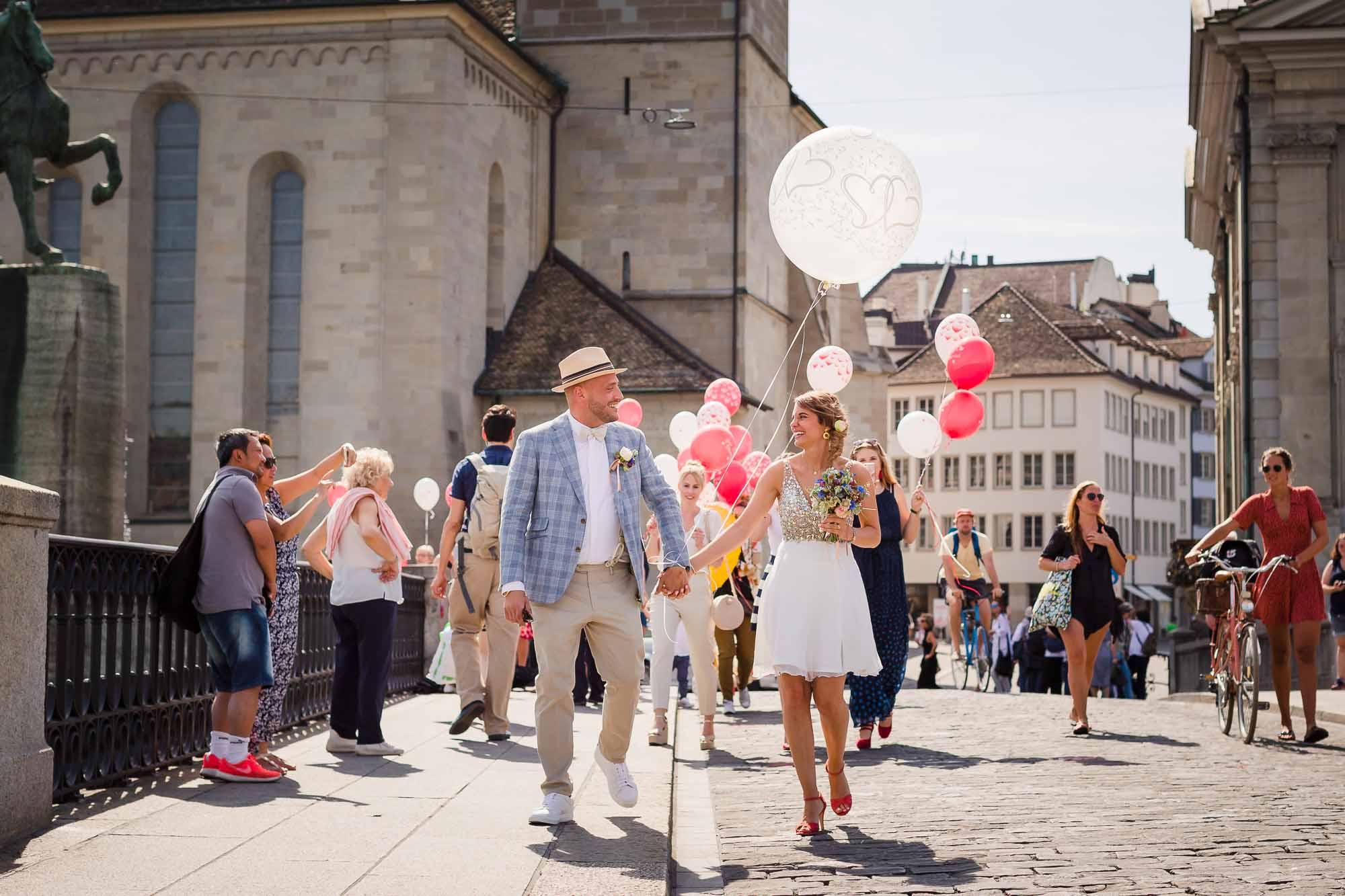 Hochzeitsbilder in Zürich Stadthaus Hochzeitsfotograf Zürich