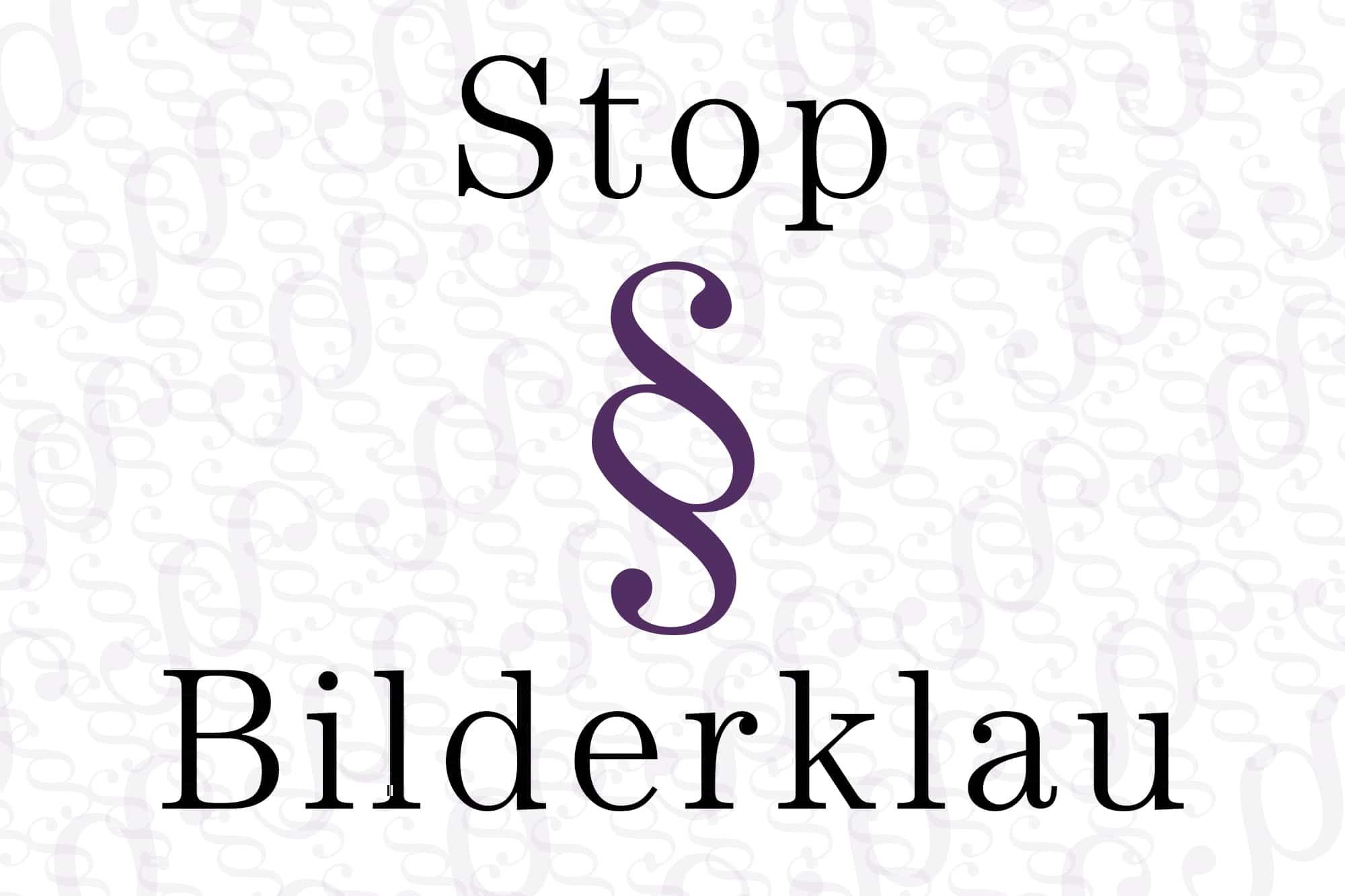 Stop Bilderklau
