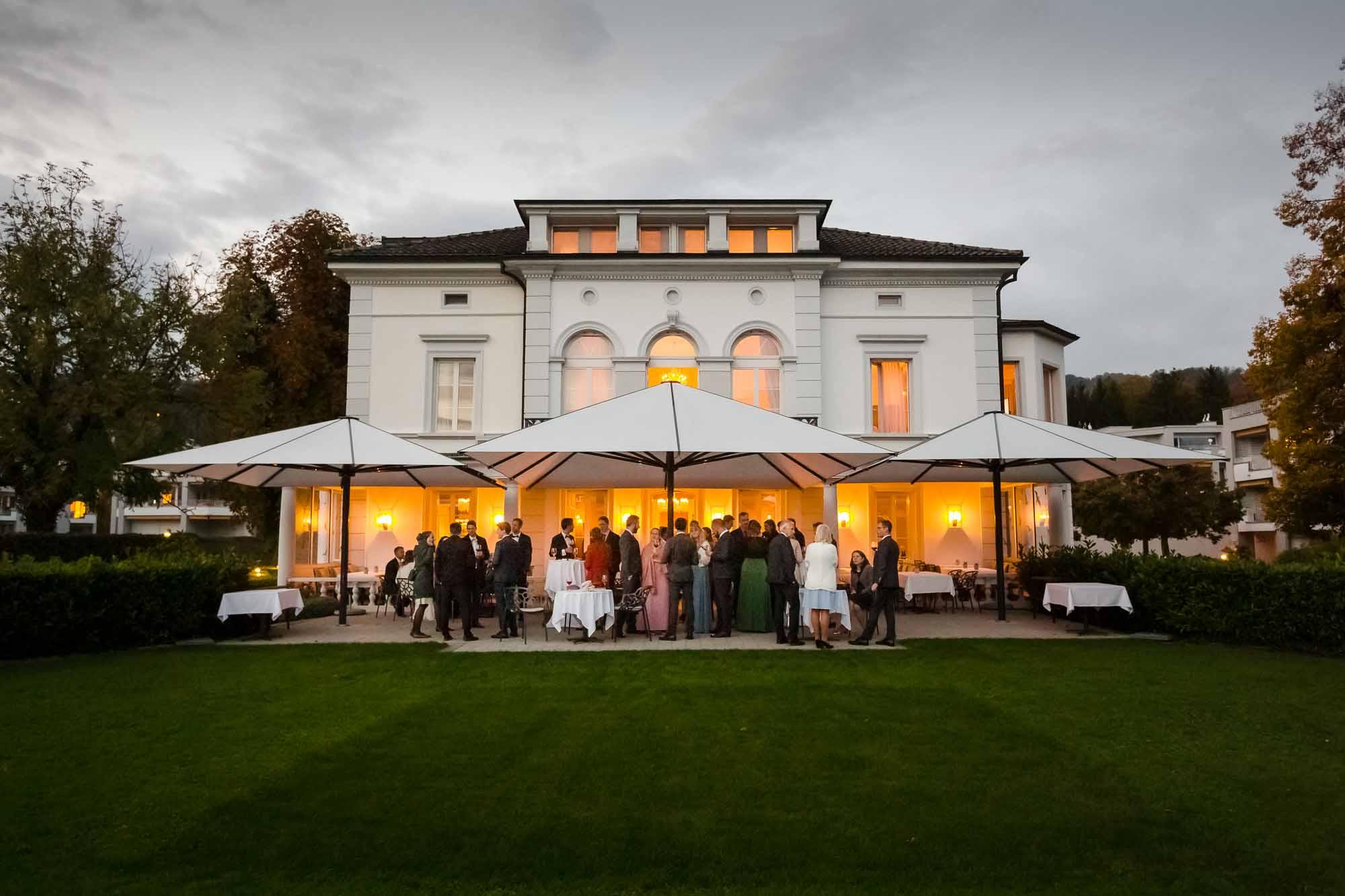 Hochzeitsfest Villa Schweizerhof Luzern