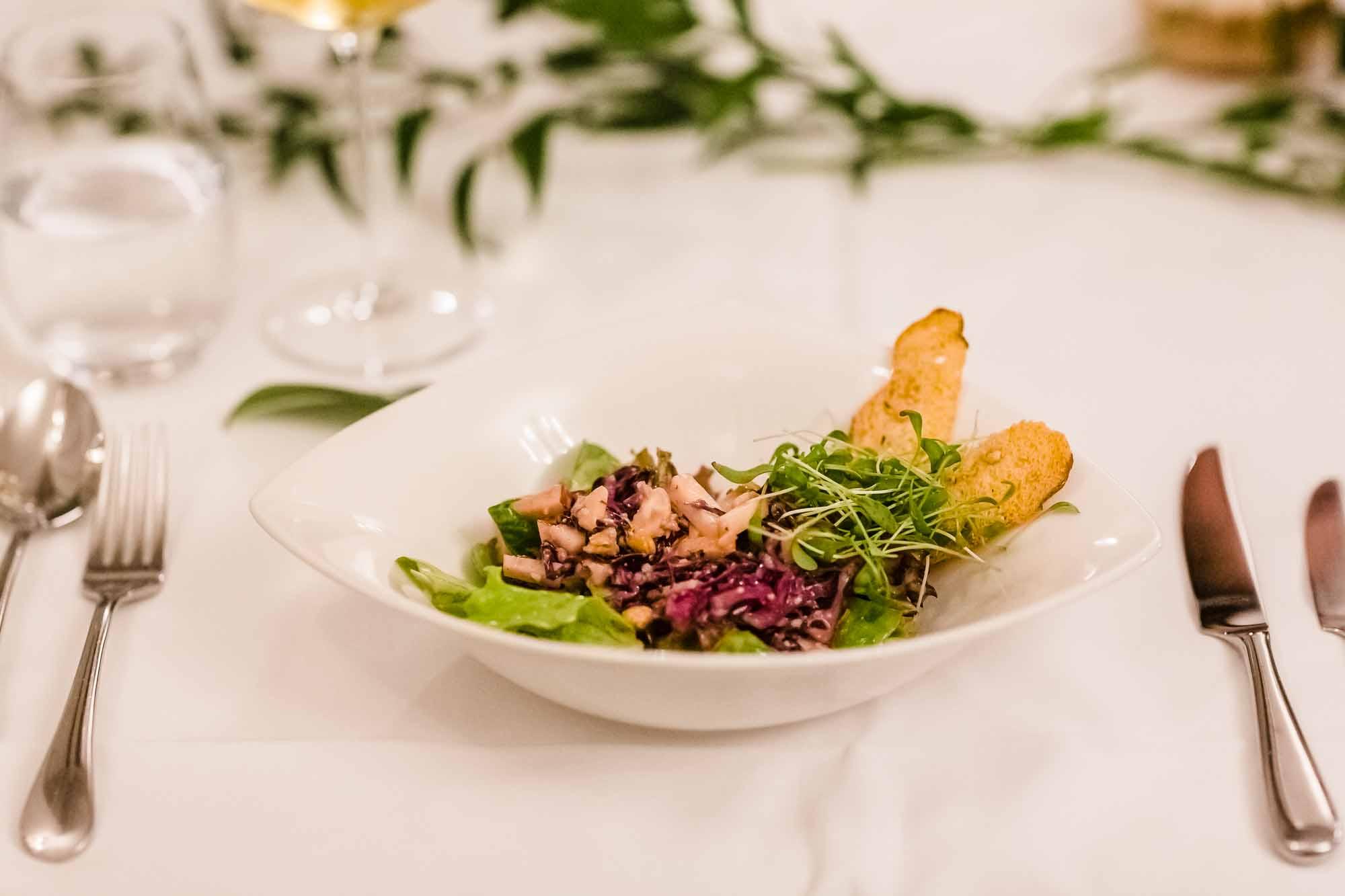 Salat Hochzeit Villa Schweizerhof Luzern
