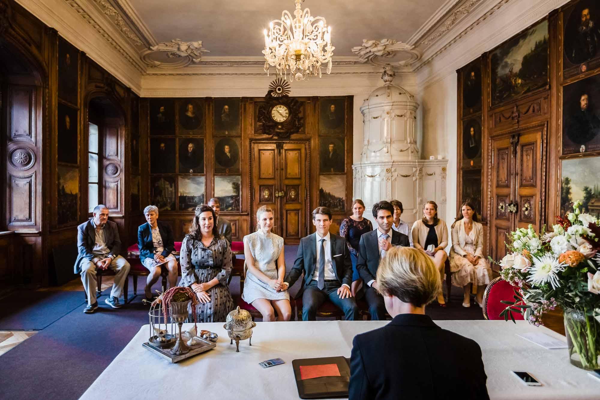 Fotos Hochzeit Luzern im Portraitsaal