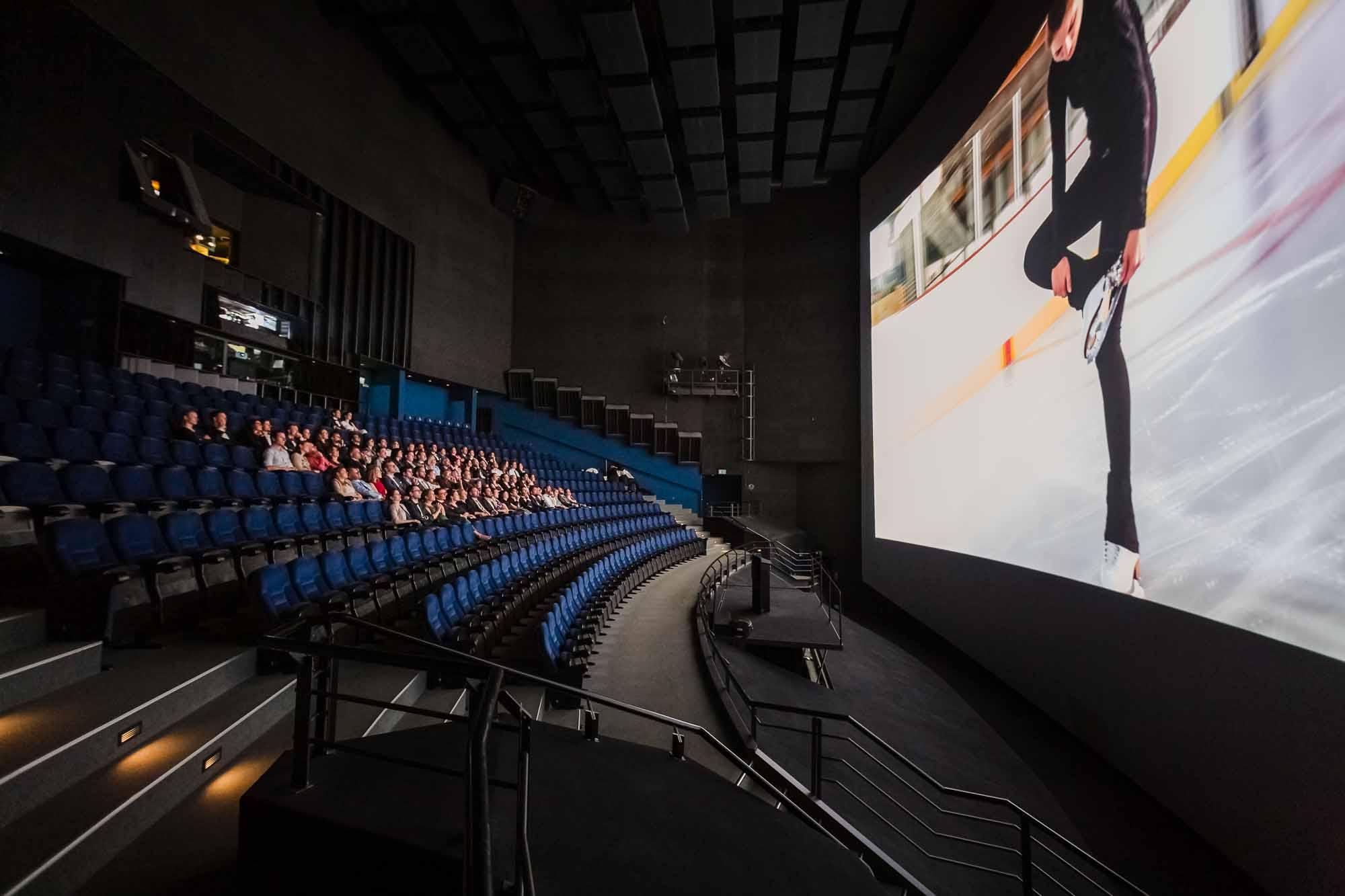 Private Filmvorführung an Hochzeit im IMAX Luzern