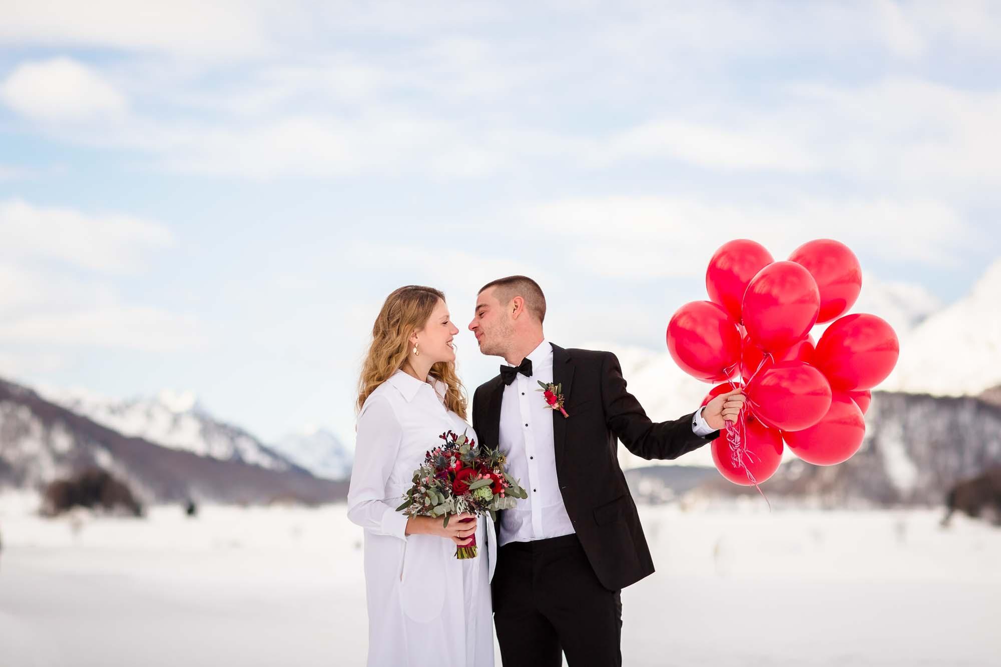 Hochzeitsfotograf St. Moritz und Sils