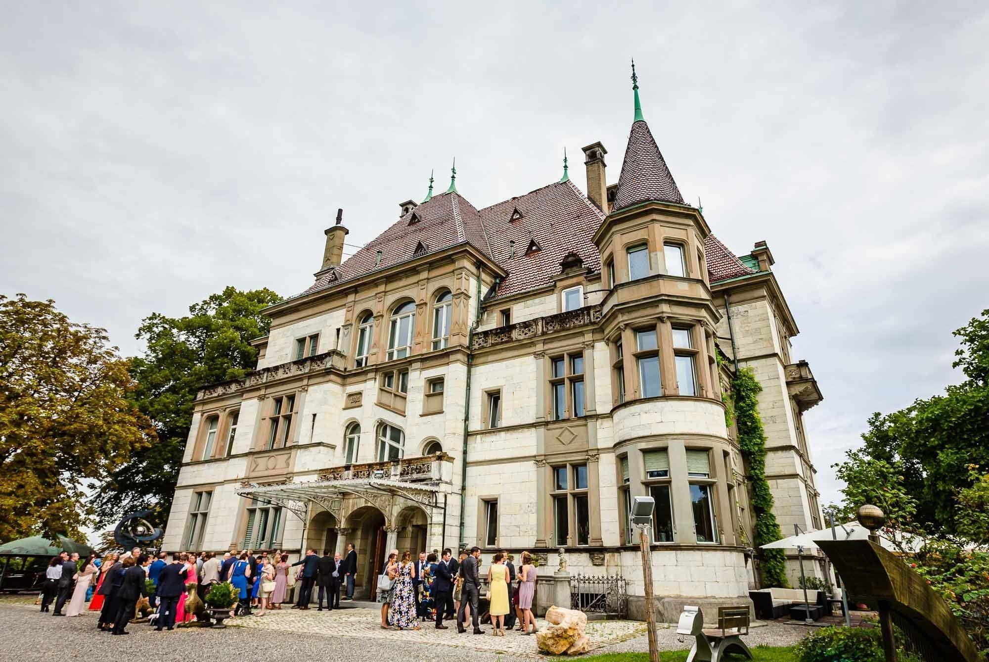 Hochzeit Schloss Sihlberg Zürich