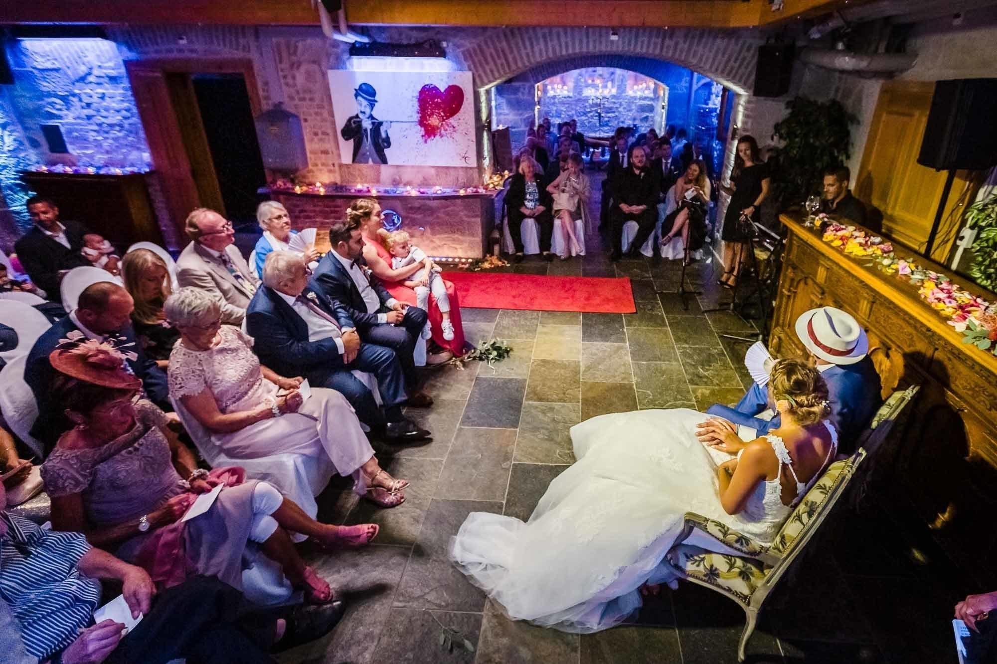 Zivilhochzeit mit freier Zeremonie Schloss Sihlberg Zürich