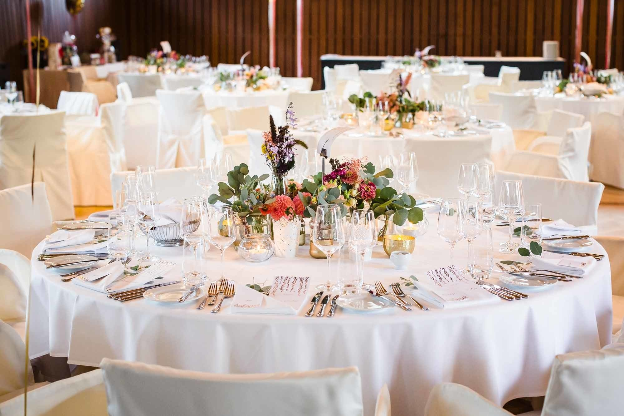 Tischdekoration Hochzeit Bocken Horgen