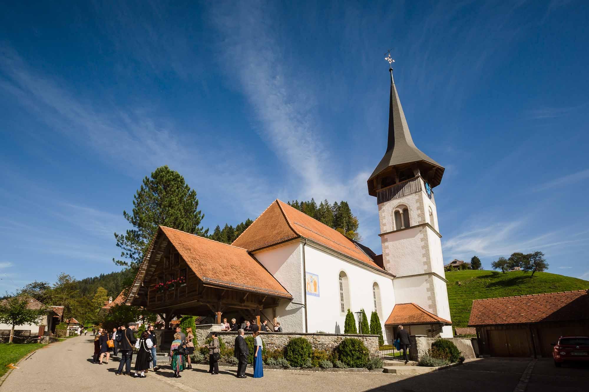 Kirche Trub Hochzeit